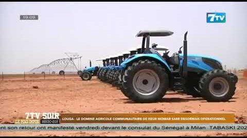 Louga Le Domaine Agricole Communautaire De Keur Momar Sarr Desormais Operationnel 5F Gt0 Sh 0 Image