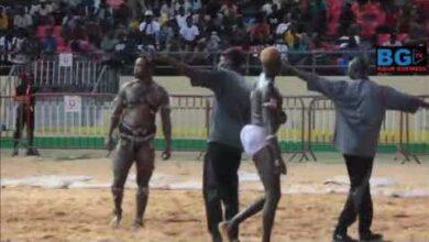 Lutte Ndiaye Production Regardez Lintegralite Des Combats Papa Boy Djine Vs Bebe Bismi Boy Niang Vs Hbwryaay0Z4 Image