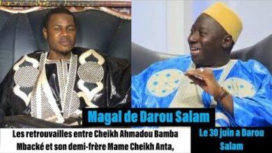 Magal Darou 2021Gana Messere Chez Serigne Ablaye Diop Khass A Darou Salam U8A3W4Pqj1U Image