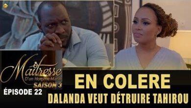 Maitresse Dun Homme Marie Saison 3 Episode 22 En Colere Dalanda Veut Detruire Tahirou Ofeptli Yw Image