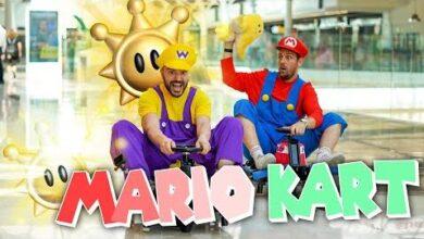 Mario Kart Dans Un Centre Commercial Vide Rien Que Pour Nous Rfosl7Fzw3K Image