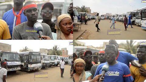 Mauvaises Conditions De Travail Chauffeurs Et Receveurs De Aftu Boycottent Les Cars Paljeoa2Ngy Image