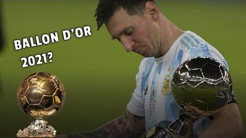 Messi En Tete Mbappe 9E Les 10 Favoris Au Ballon Dor 2021 Apres Leuro Et La Copa Pec4Fwu8Y64 Image
