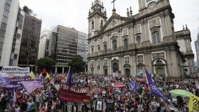 Milhares De Brasileiros Nas Ruas Pedem Destituicao De Bolsonaro Ejyoarfi Mg Image
