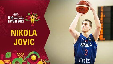 Nikola Jovic Shows His Skills Best Plays In The Group Stage Fiba U19 World Cup Tjchlumke6E Image