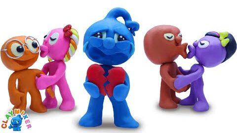 Oh Non Blue Lui A Brise Le Coeur Le Jour De La Saint Valentin Animated Cartoons Characters Gp2Zbaecfce Image