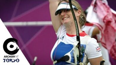 Olympics Number Five For Britains Naomi Folkard Archeryattokyo Grmhvci76Oo Image