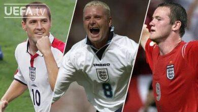 Owen Gascoigne Rooney Euro 2020 Final England Great Euro Goals Dslicpli1Hq Image
