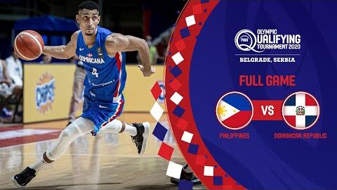 Philippines V Dominican Republic Full Game Fiba Olympic Qualifying Tournament 2020 Cwj0Vtq4C9I Image