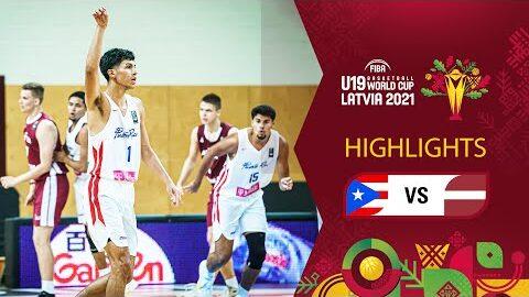 Puerto Rico Latvia Full Highlights Fiba U19 Basketball World Cup 2021 Wftkwa70I4Y Image