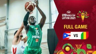 Puerto Rico V Mali Full Game Fiba U19 Basketball World Cup 2021 Xbhtblt8368 Image