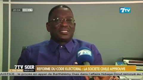 Reforme Du Code Electoral La Societe Civile Approuve Ms Dfwmifie Image