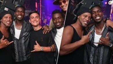Ronaldinho Et Pogba Saffichent En Boite De Nuit Dybala Et Matuidi Egalement De La Partie Gjyat Hkyt0 Image
