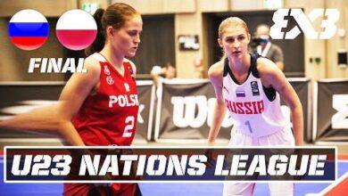 Russia Vs Poland Womens Final Full Game U23 Nations League 2021 Europe Stop 3 Uhvoa6Ti8Sq Image