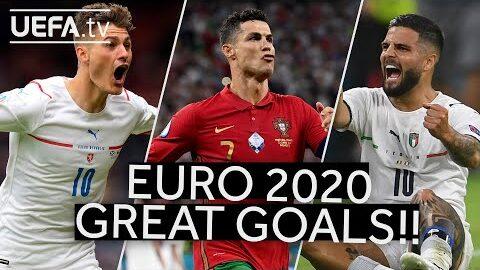 Schick Ronaldo Insigne Great Euro 2020 Goals