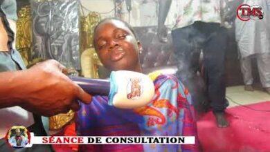 Seance De Consultation Thierno Moule Terrasse Plusieurs Djins Dans Sa Chambre De Consultation G81Jg6Oi59K Image