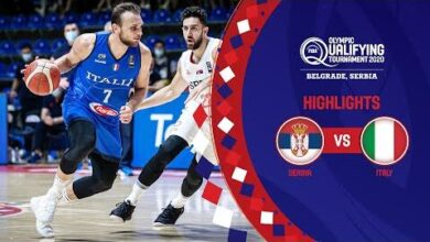 Serbia Italy Finals Full Highlights Fiba Olympic Qualifying Tournament 2020 Wnvzip8Roja Image