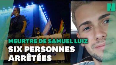 Six Arrestations Apres Le Meurtre De Samuel Nouvelle Manif Contre Lhomophobie A Barcelone I1Rlbczblhy Image