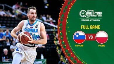 Slovenia V Poland Full Game Fiba Olympic Qualifying Tournament 2020 V6Ttqddfyea Image