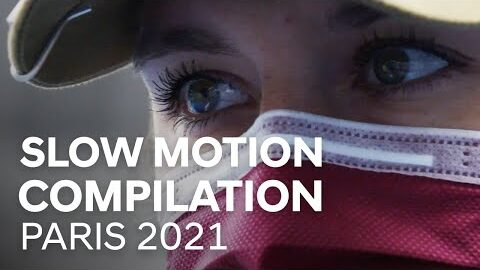 Slow Motion Compilation Paris 2021 Hyundai Archery World Cup Stage 3
