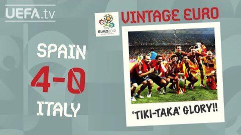 Spain 4 0 Italy Euro 2012 Vintage Euro
