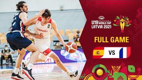 Spain V France Full Game Fiba U19 Basketball World Cup 2021