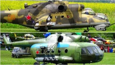 Stunning Detailed Rc Scale Model Helicopter Russia Serie Z1Ixdbiomsu Image