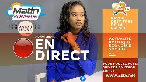 Suivez Matin Bonheur Avec Astou Dione Mercredi 06 Juillet 2021 9E Ynnriqkc Image