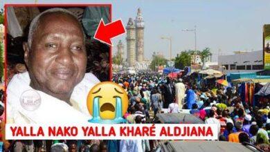 Touba La Communaute Mourides En Deuil Deces De S Moustapha Massamba Mbacke 0Cc7Fnbaxxk Image
