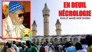 Urgent Touba En Deuil Necrologie Deces De S Ablaye Mb Khalif Mame Mor Diarra Vhv8Ymw2Pbi Image