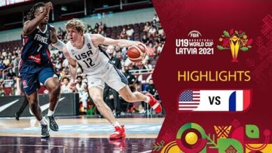 Usa France Full Highlights Final Fiba U19 Basketball World Cup 2021 Fzinzf49Ypc Image