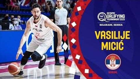 Vasilije Micic With A Class Performance Vs Puerto Rico Tcl Player Of The Game Fiba Oqt 2020 Zrxoirip Ju Image