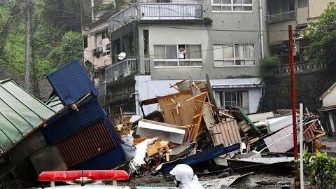 Video Deslizamento De Terra No Japao Deixa 20 Pessoas Desaparecidas Uehsog5Dou Image