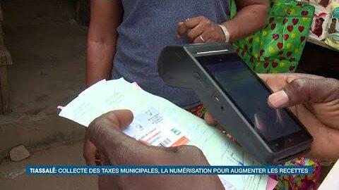 Vie Dici Collecte Des Taxes Municipales La Numerisation Pour Augmenter Les Recettes A Tiassale M2Fkrsp9Cli Image