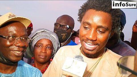 Wally Seck Inaugure Un Stade A Aram Fouta Devant Elhadj Ndiaye 2S Et La Famille De Adam0 Iogzymbdolq Image