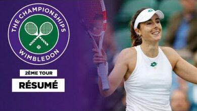 Wimbledon Alize Cornet Na Rien Pu Faire Contre Ajla Tomljanovic G7Ffzk5Wswq Image