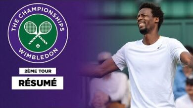 Wimbledon Cest Deja Termine Pour Gael Monfils Auhx8Lmk2Em Image