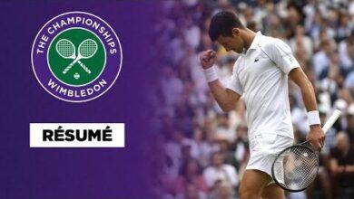Wimbledon Resume Djokovic A Ecoeure Shapovalov Fnosnonldkg Image