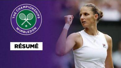 Wimbledon Resume Pliskova Elimine Sabalenka Et Rejoint Barty Uapgkpmueta Image