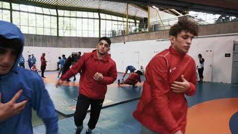 Wrestling Warm Up Day 5 2021 Junior European Championships Kmo4Em3V9Ny Image