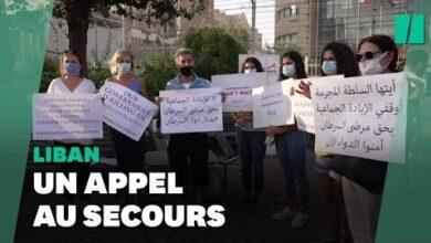 A Beyrouth Des Patients Atteints De Cancer Reclament Des Medicaments Jk9Hovoqxjy Image
