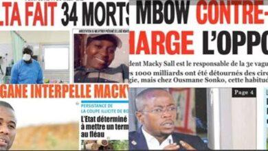 Actualites Delta Fait 34 Morts Bougane Interpelle Macky Abdou Mbow Charge Lopposition Pmz17D1Ya8E Image
