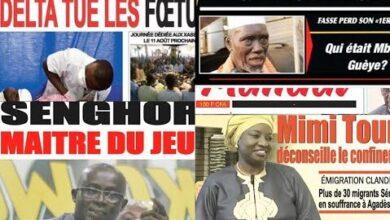 Actualites Delta Tue Les Foetus Mimi Toure Deconseille Le Confinement Dsws4Swoegu Image