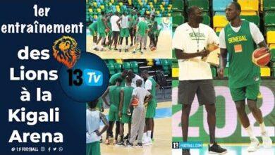 Afrobasket J 2 Les Lions Decouvrent Le Parquet De La Kigali Arena Byoei5S Asy Image