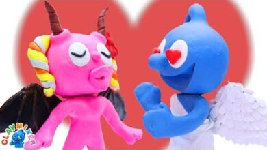 Ange Dechu Nomme Blue Argile Stop Motion Dessin Anime Clay Mixer Francais Gcaxfgnj9U4 Image