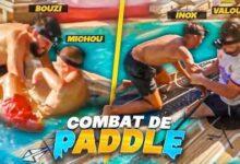 Battle Royale De Paddle Dans La Piscine Avec Les Croutons Au Mexique Aie Ca Fait Trop Mal Kf3Zsvujfky Image