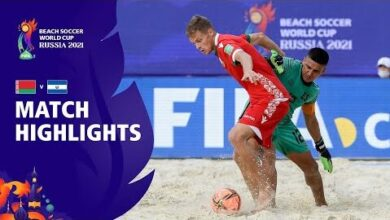 Belarus V El Salvador Fifa Beach Soccer World Cup 2021 Match Highlights Hadryl Wjic Image
