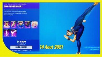 Boutique Fortnite Du 14 Aout 2021 Item Shop August 14 2021 3Epjsr X6M0 Image