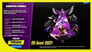 Boutique Fortnite Du 25 Aout 2021 Pack Rare De Retour Okrftlwku Y Image