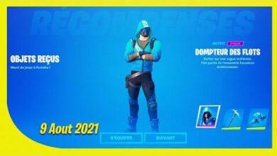 Boutique Fortnite Du 9 Aout 2021 Jai Debloque Le Skin Intel Rapfhvr4Svc Image